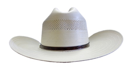 Resistol Resistol Cross Tie 10X Straw Hat RSCTIE-3042 - Corral ... 8453c32a0ce