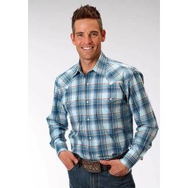 Roper Men's Roper Snap Front Shirt 03-001-0778-4029