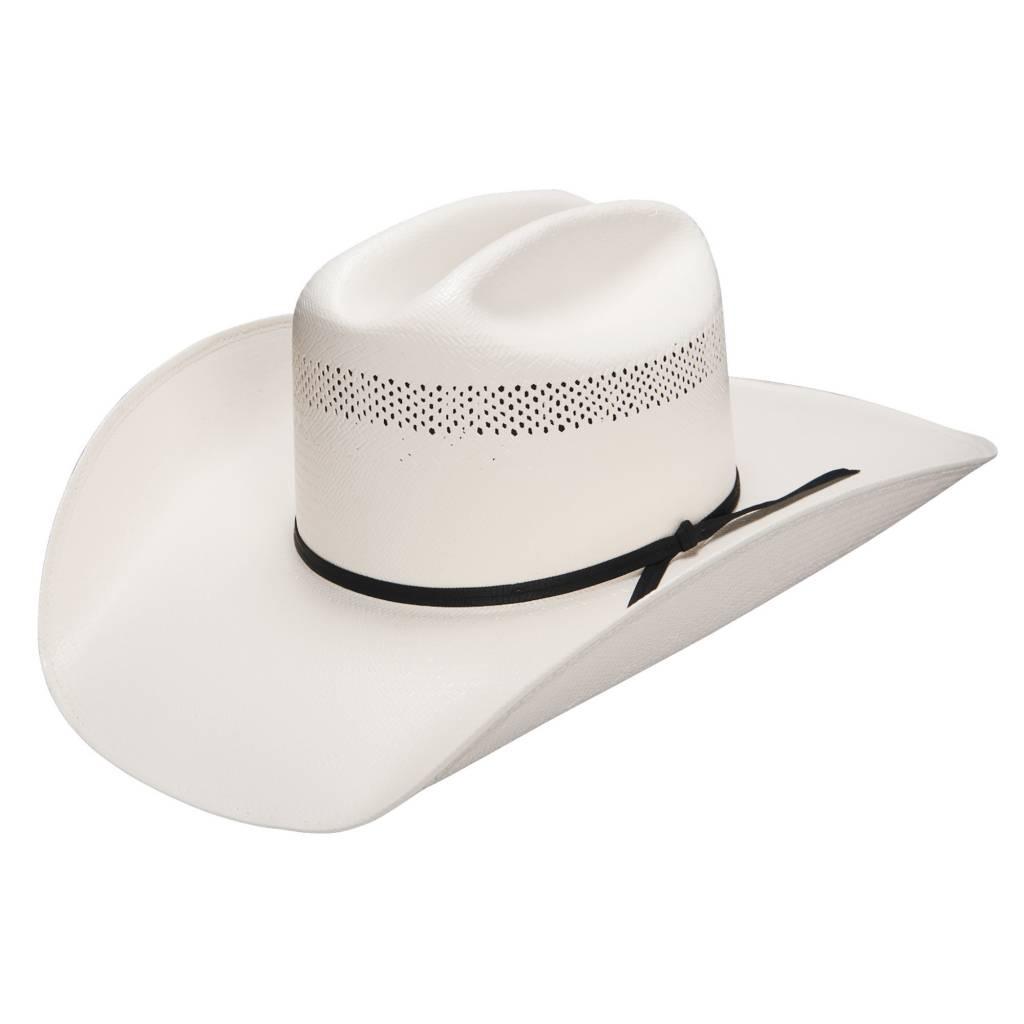 Wrangler Wrangler Riverside 20X Straw Hat WSRVSD-6842 - Corral ... 8e18095632d