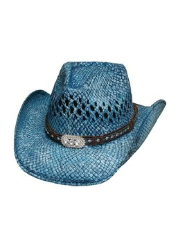 Bullhide Bullhide Wild and Blue Straw Hat 2841