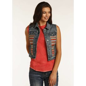 Panhandle Women's Rock & Roll Cowgirl Vest 58-2348 C3