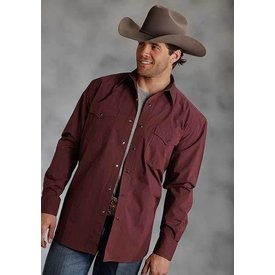 Roper Men's Roper Snap Front Shirt 03-001-0765-0107RED