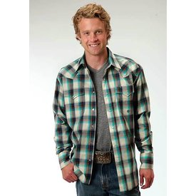 Roper Men's Roper Snap Front Shirt 03-001-0778-6052WH