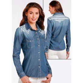 Panhandle Women's Rough Stock Snap Front Shirt R4S2230 C3