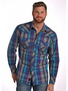 Panhandle Men's 90 Proof Snap Front Shirt V6S4835