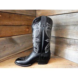 Hondo Men's Black Shoulder Western Boot