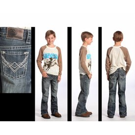 Rock & Roll Cowboy Boy's Rock & Roll Cowboy Jeans BB-5528 C3