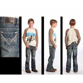 ROCK&ROLL COWBOY Boy's Rock & Roll Cowboy Jeans BB-5528