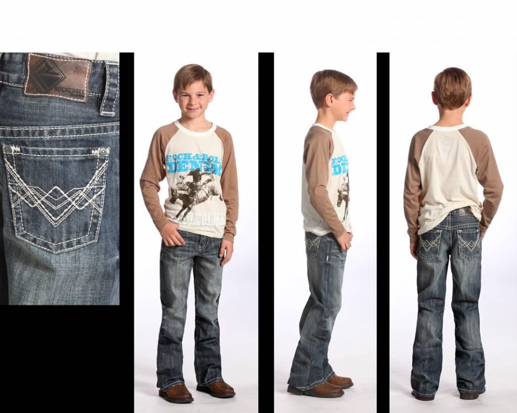 Rock Amp Roll Cowboy Boy S Rock Amp Roll Cowboy Jeans Bb 5528