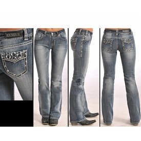 Rock and Roll Cowgirl Women's Rock & Roll Cowgirl Jean W1-5625 C5