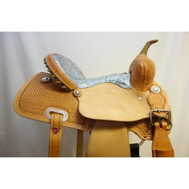 Circle Y CIRCLE Y SILVER SNAKE DREAMER BARREL SADDLE 2203-0454