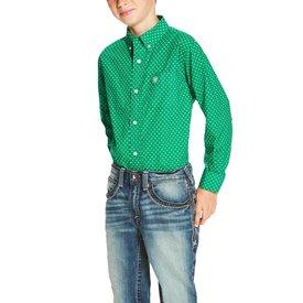 Ariat Boy's Ariat Oswego Button Down Shirt 10020358