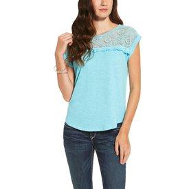Ariat Women's Turquoise Rita Blouse C4
