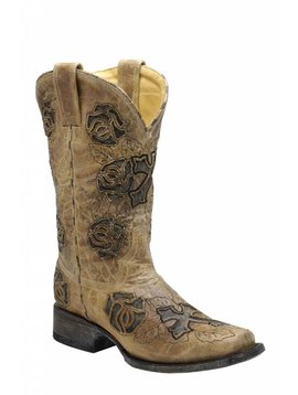 Tony Lama Women's Corral Western Boot R2375 C3