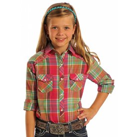 Panhandle Girl's Panhandle Snap Front Shirt C6S7336