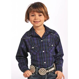 Panhandle Girl's Panhandle Snap Front Shirt C6S4702 C3