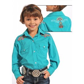 Panhandle Girl's Panhandle Snap Front Shirt C6S4715 C3