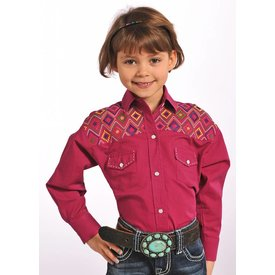 Panhandle Girl's Panhandle Snap Front Shirt C6S4668 C3