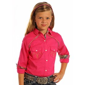 Panhandle Girl's Panhandle Snap Front Shirt C6S7335
