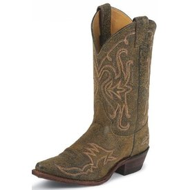Justin Women's Distressed Brown Western Boot C4