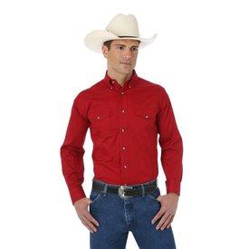 Wrangler Men's Wrangler Button Down Work Shirt MP3522R