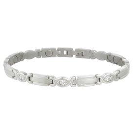 Sabona Lady Executive Silver Gem Bracelet