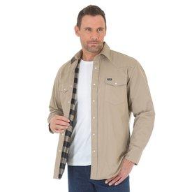 Wrangler Men's Wrangler Cowboy Cut Flannel Lined Work Shirt MS7201K