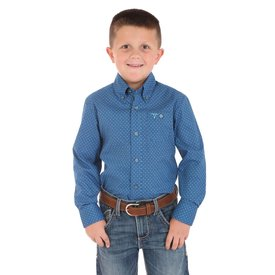 Wrangler Boy's Wrangler 20X Button Down Shirt BJC053M