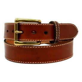 Nocona Belt Co. Men's Smooth Stitched Leather Belt