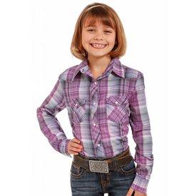 Panhandle Girl's Panhandle Snap Front Shirt C6S3656