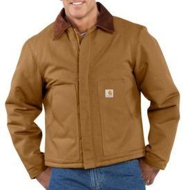 Carhartt Men's Carhartt Duck Traditional Jacket J002 B/T