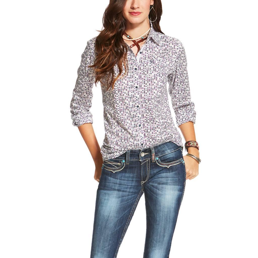 b51bcbb2f8 Ariat Women s Ariat Kirby Button Down Shirt 10020571 - Corral ...