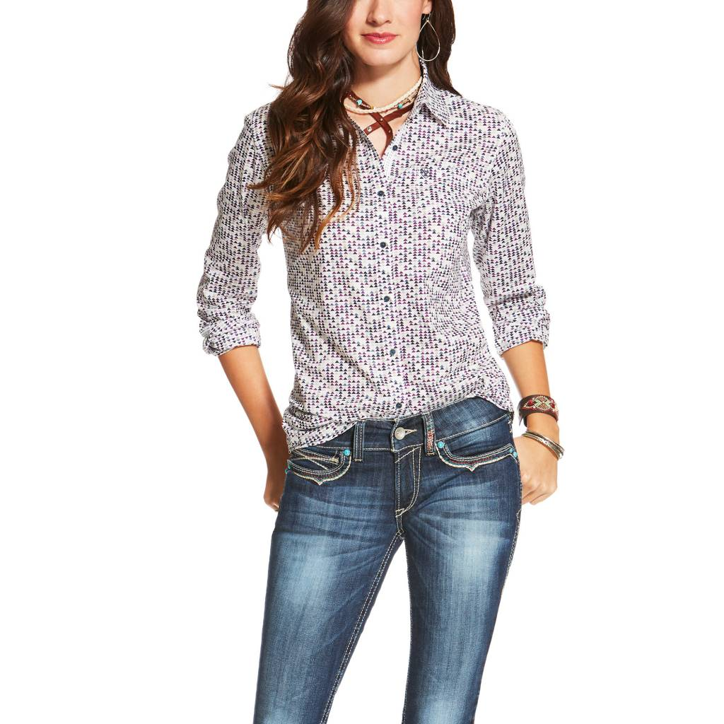 d3636f4f193 Ariat Women's Ariat Kirby Button Down Shirt 10020571 | Corral ... ariat  women's wear