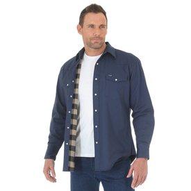 Wrangler Men's Wrangler Flannel Lined Work Shirt MS7200N