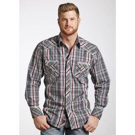 Panhandle Men's 90 Proof Snap Front Shirt V6S4833 C3