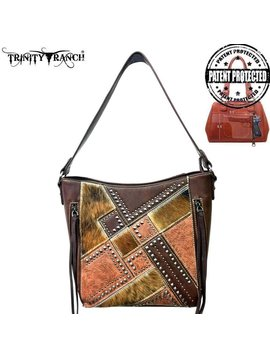 Trinity Ranch Trinity Ranch Conceal Carry Hobo Bag TR51G-916 CF