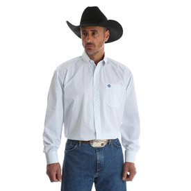 Wrangler Men's Wrangler George Strait Button Down Shirt MGSB419 C3