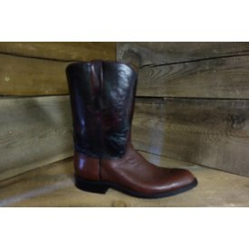 Lucchese Men's Smooth Ostrich Roper Boot C5 9 B