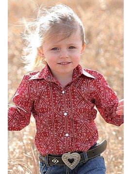 Cruel Girl Toddler Girl's Cruel Girl Snap Front Shirt CTW3301004