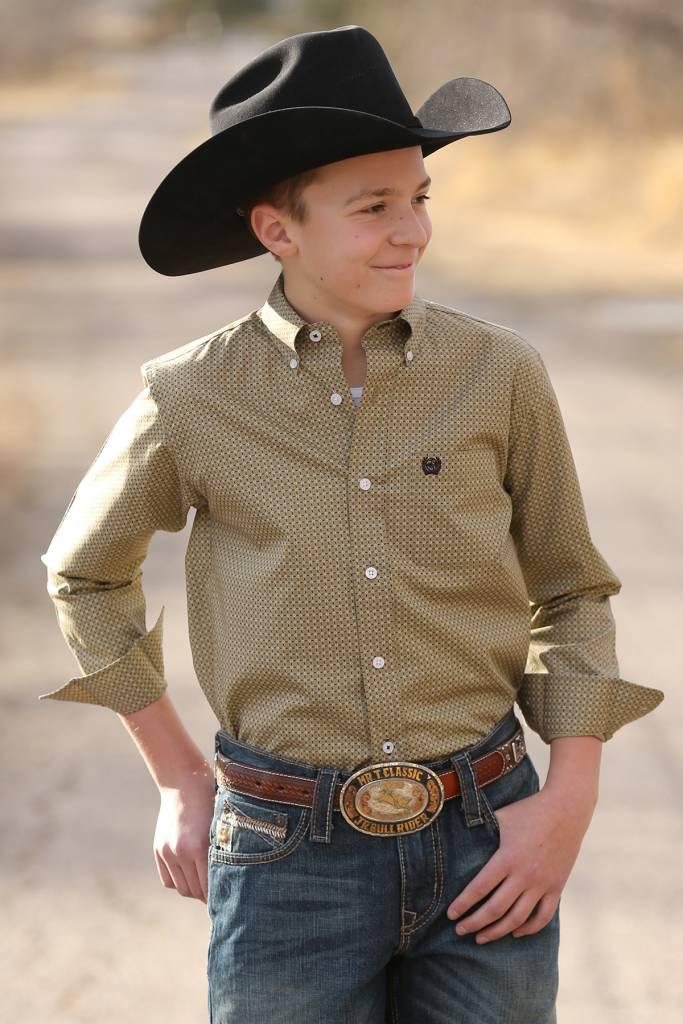 fd857646 Cinch Boy's Cinch Button Down Shirt MTW7060169   Corral Western Wear