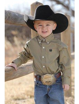 Cinch Infant Boy's Cinch Button Down Shirt MTW7062169
