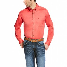 Ariat Men's Cranberry Button Down Shirt C4