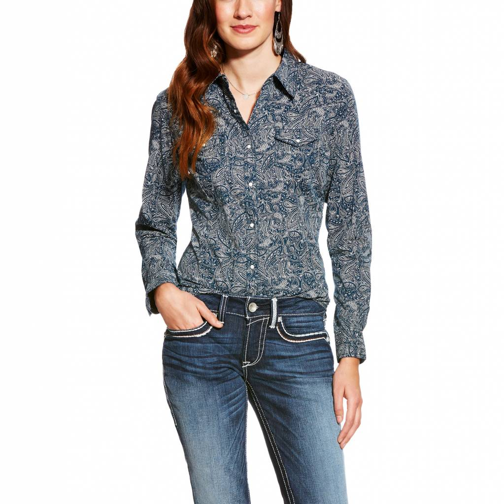 7a249a60d09 Ariat Women's Ariat Snap Front Shirt 10021060 | Corral Western Wear ariat  women's wear