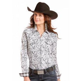 Panhandle Women's Rough Stock Snap Front Shirt R4S4267