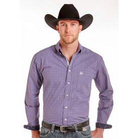 Panhandle Men's Rough Stock Button Down Shirt R0D4258 C4