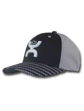Hooey Men's Hooey Cap 1721BKGY