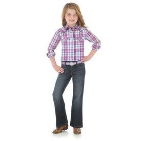 Wrangler Girl's Wrangler Snap Front Shirt GW8631M