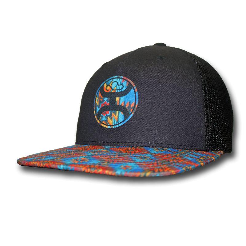 6913976309 Hooey Men's Hooey Cap 1665T-BLBK OSFA | Corral Western Wear