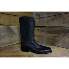 Lucchese Women's Black Roper Boot 5.5 B C5