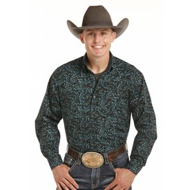 Panhandle Men's Tuf Cooper Button Down Shirt TCD4670
